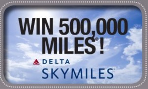 Win 500,000 Delta SkyMiles® with Travelpro®